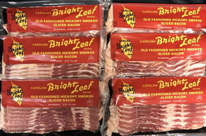 Bright Leaf Old Fashioned Hickory Smoked Bacon (6 packages)