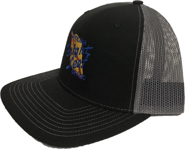 Black / Gray Mesh Snapback Hat