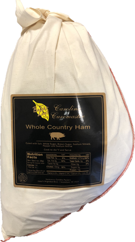 Whole Bone-In Cured Country Ham