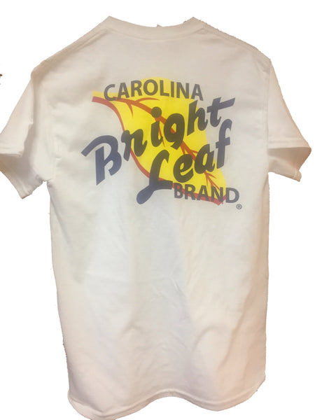 Bright Leaf Brand White Short Sleeve T-Shirt