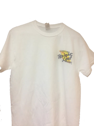 Bright Leaf Brand White Short Sleeve T Shirt