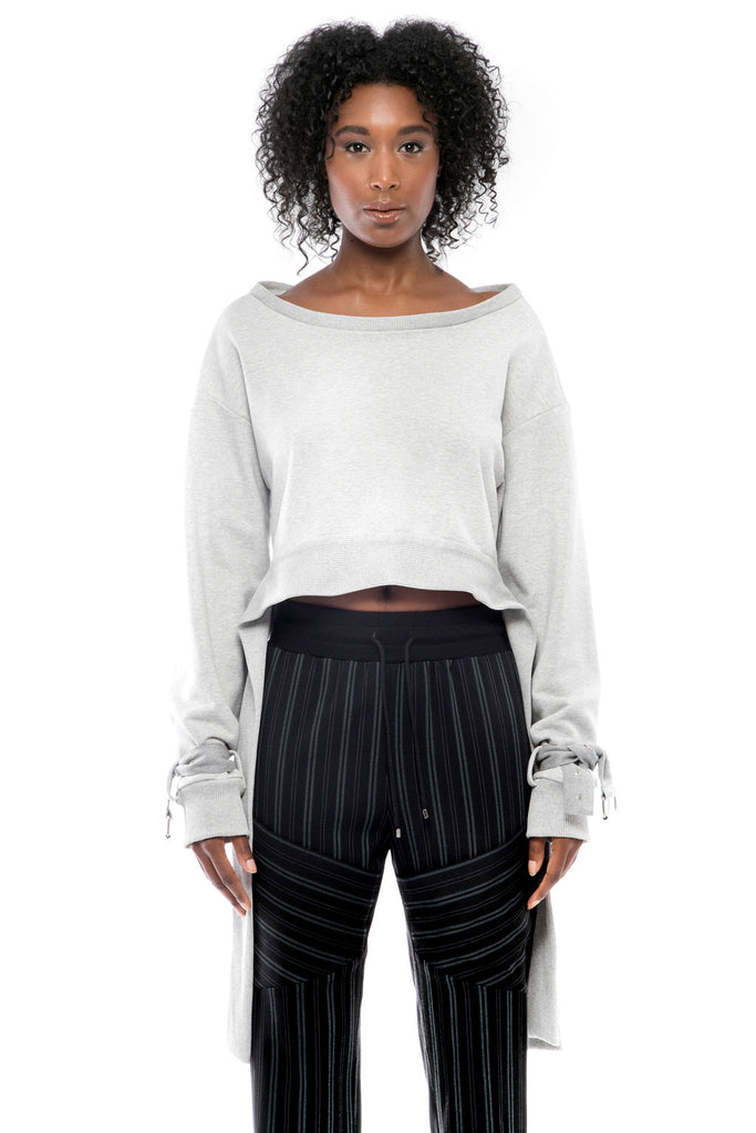 Ruby Cropped Sweatshirt