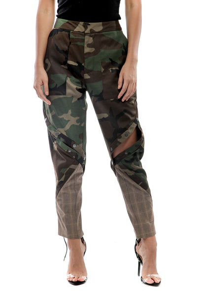 Trixie Camo Patchwork Pants