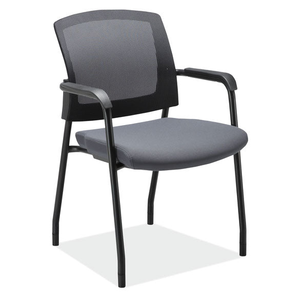 Micro Mesh Back Side Chair with Arms