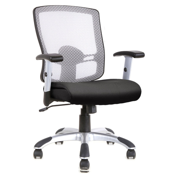 Mesh Basic Task Chair with Chrome Base and Arms