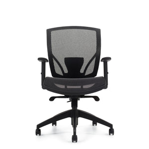 2821 Mesh Seat and Back Synchro-Tilter Chair