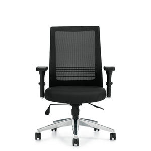 11325B Mesh Back Synchro-Tilter Chair