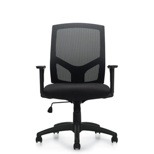 11516B High Back Mesh Back Synchro-Tilter Chair