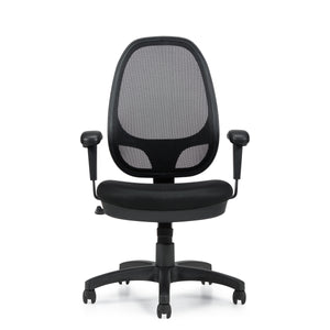 11641B High Back Mesh Back Synchro-Tilter Chair