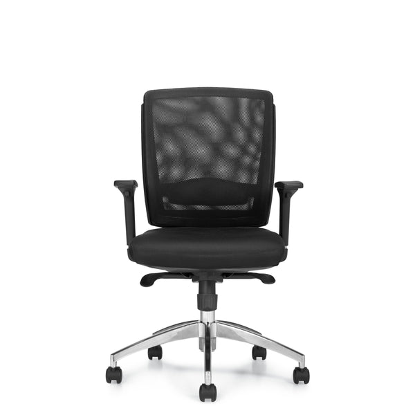 10904B Mesh Back Synchro-Tilter Chair