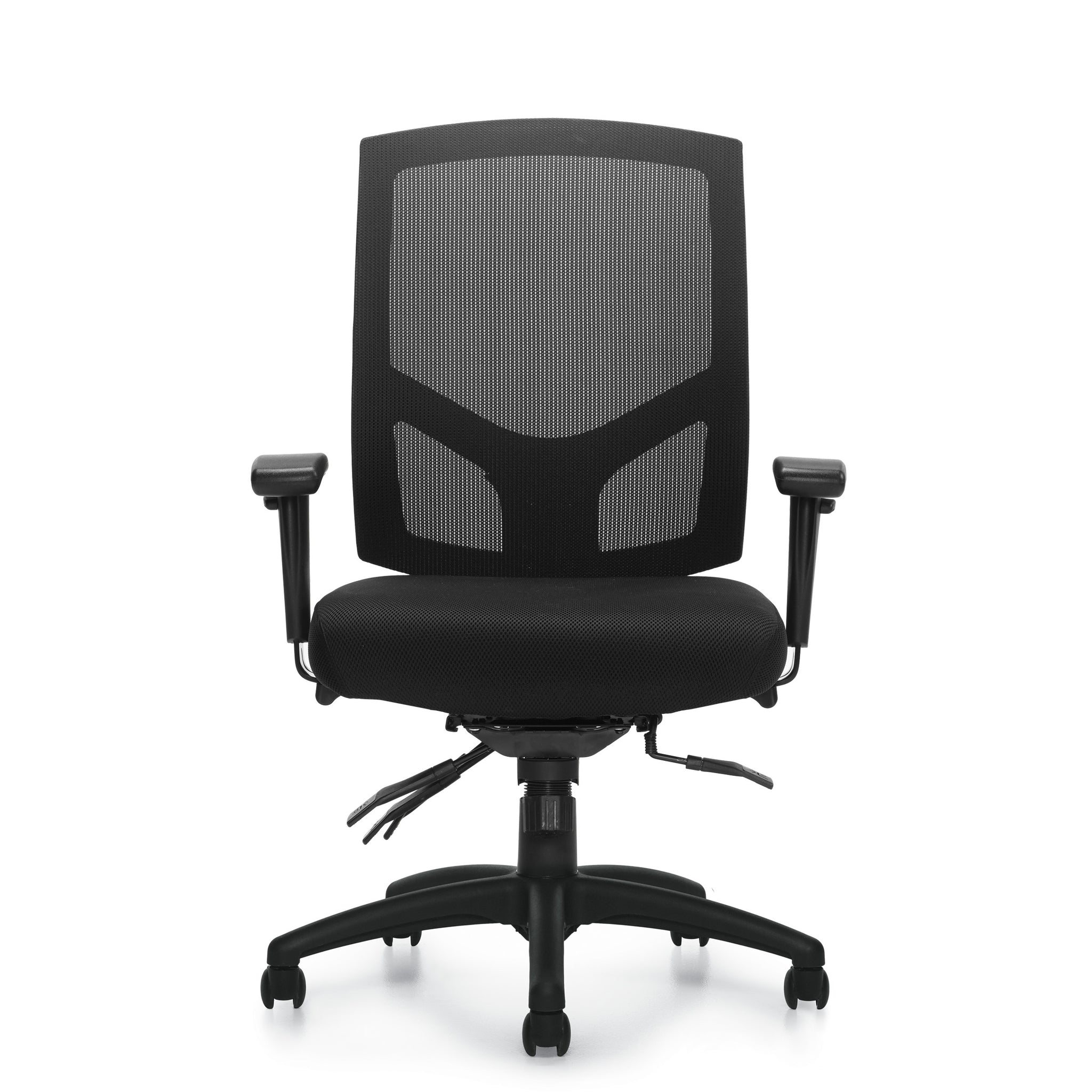 11769B Mesh Back Multi-Function Chair with Arms