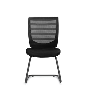 11923B Armless Mesh Back Guest Chair