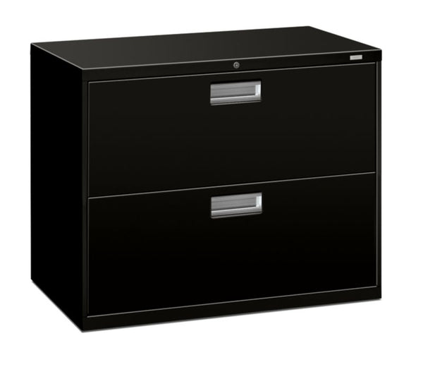 "HON Brigade 600 Series Lateral File | 2 Drawers | 36""W x 19 1/4""D"
