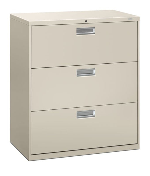 "HON Brigade 600 Series Lateral File | 3 Drawers | 36""W x 19 1/4""D"