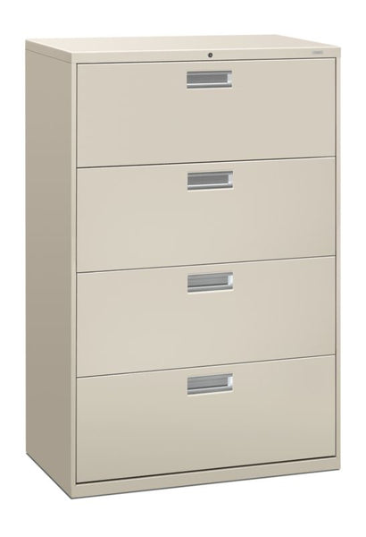 "HON Brigade 600 Series Lateral File | 4 Drawers | 36""W x 19 1/4""D"