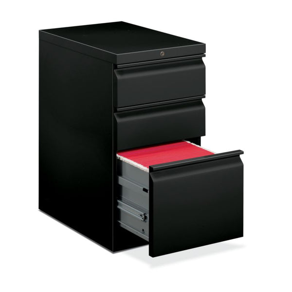 "HON Brigade Pedestal | Standard Height | Mobile | 2 Box / 1 File Drawer | 22 7/8""D"