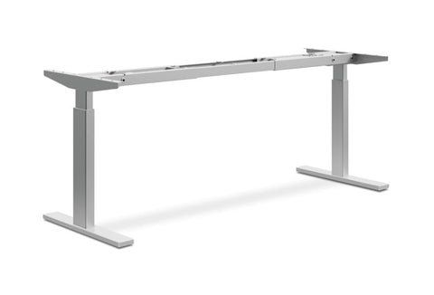 HON Coordinate Height-Adjustable Base | 2-Stage | Nickel Finish