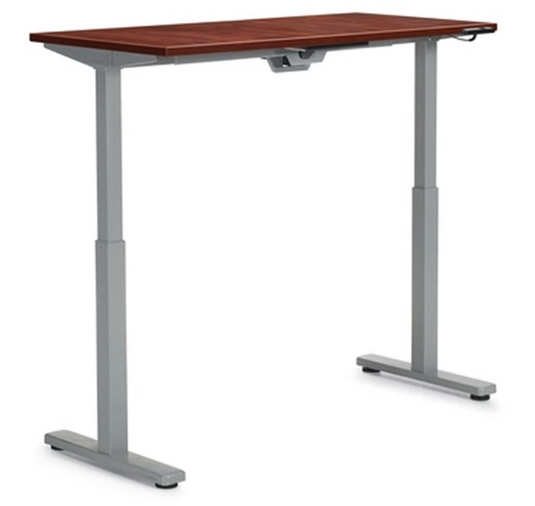 "48""W x 24""D Height Adjustable Table Top and Base Unit"