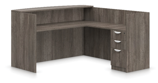 SL-O L-Shaped Reception Desk