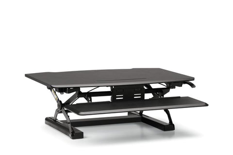 HON Coordinate Desktop Riser with Keyboard Tray