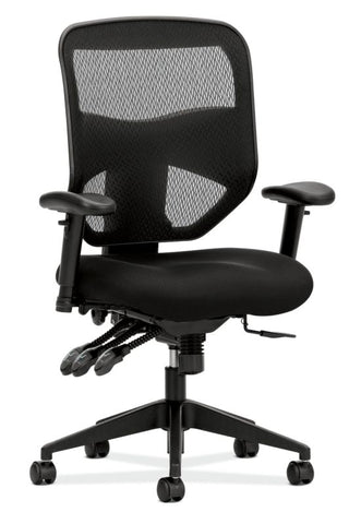 HON Prominent Mesh High-Back Task Chair | Asynchronous Control, Seat Glide | 2-Way Arms