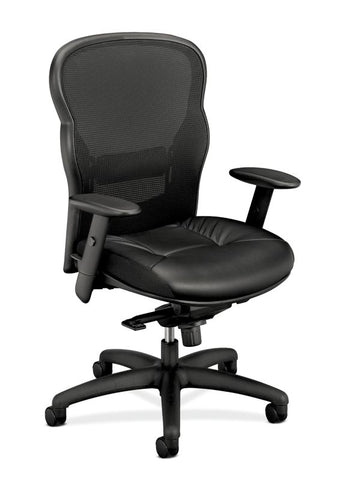 HON Wave Mesh High-Back Task Chair | Knee-Tilt | Adjustable Arms