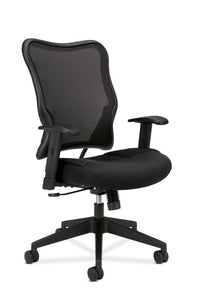 HON Wave Mesh High-Back Task Chair | Synchro-Tilt | Adjustable Arms