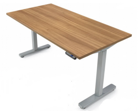 "71""W x 24""D Height Adjustable Table Top and Base Unit"