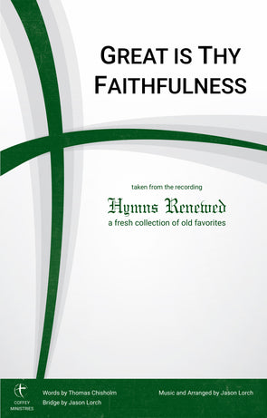 Great Is Thy Faithfulness (SATB)