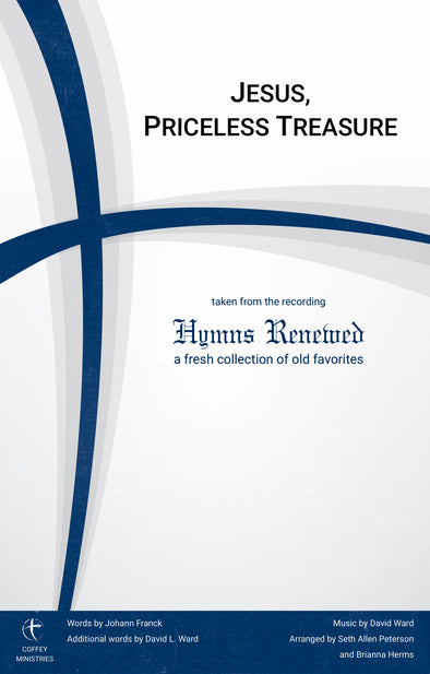 Jesus, Priceless Treasure (SATB)