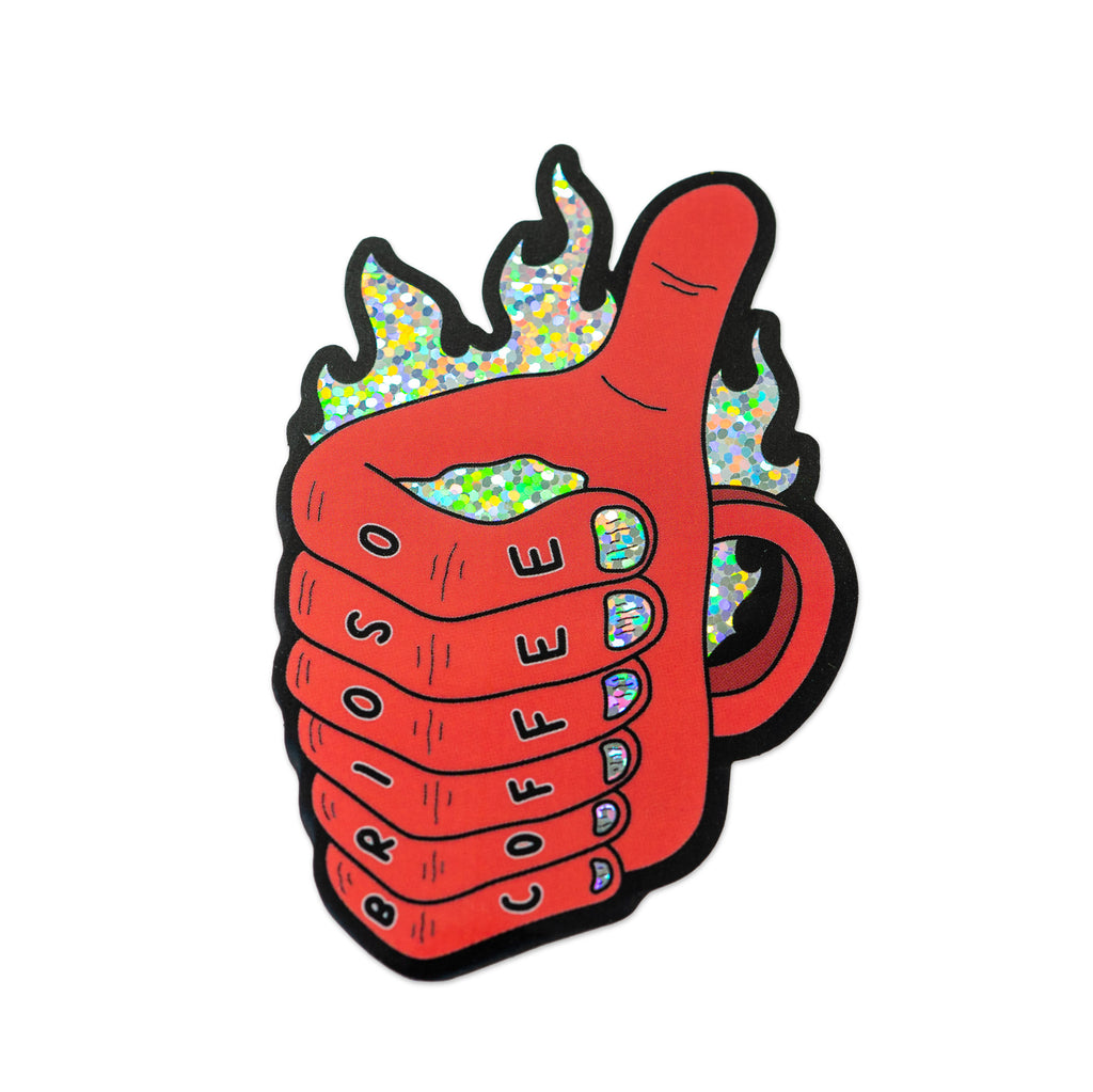 Mug of Demonic Approval Sticker