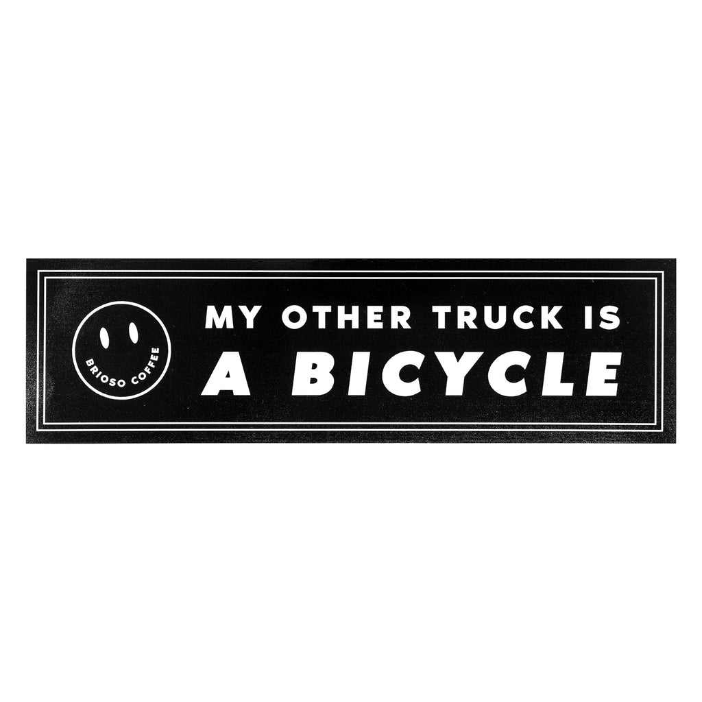 My Other Truck is a Bicycle Bumper Sticker