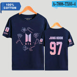 Jungkook  Bias Flower T-Shirt - Free WorldWide Shipping