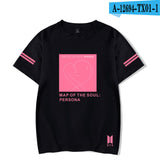 BTS Map Of The Soul : Persona Cover T-Shirt - Free WorldWide Shipping