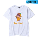 BTS Jungkook Cartoon T-Shirt - Free WorldWide Shipping