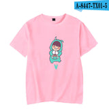 BTS V Cute Cartoon T-Shirt - Free WorldWide Shipping