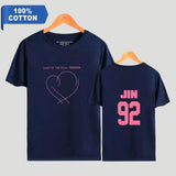 BTS Jin Bias  T-Shirt - Free WorldWide Shipping