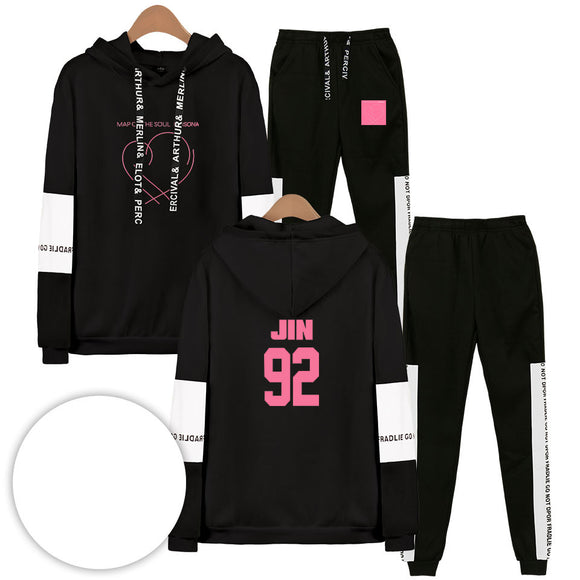 BTS Map Of The Soul Persona Jin Tracksuit - Free WorldWide Shipping