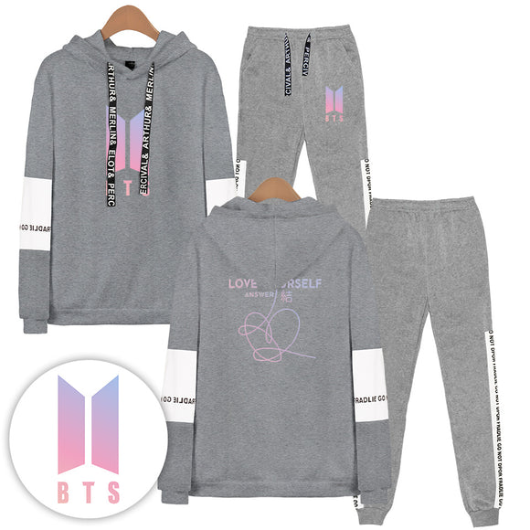 BTS Love Yourself Answer Tracksuit - Free WorldWide Shipping