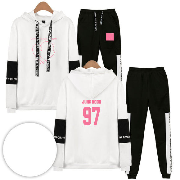 BTS Map Of The Soul Persona Jungkook Tracksuit - Free WorldWide Shipping