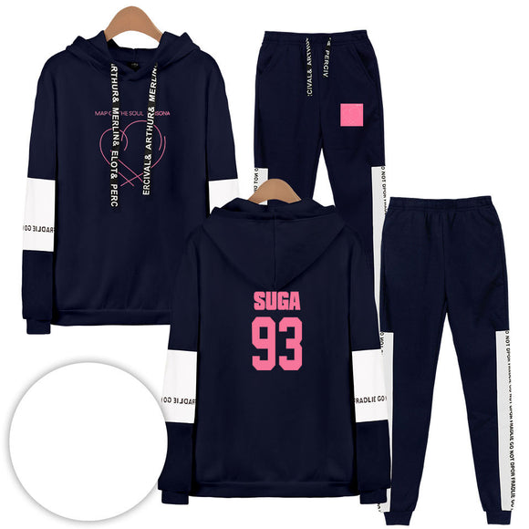 BTS Map Of The Soul Persona Suga Tracksuit - Free WorldWide Shipping