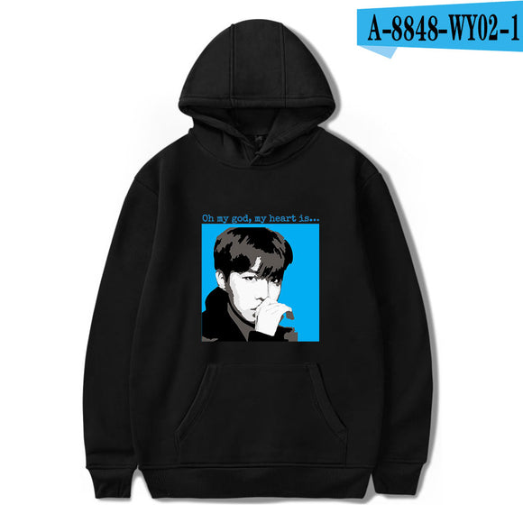 BTS J-HOPE OMG Hoodie - Free WorldWide Shipping
