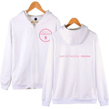 BTS Persona Circle Logo Zip Up Hoodie - Free WorldWide Shipping