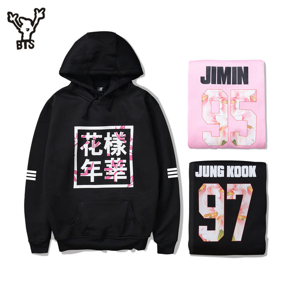 BTS Old School Hoodie - Free WorldWide Shipping