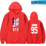 BTS Face Hoodie - Free WorldWide Shipping