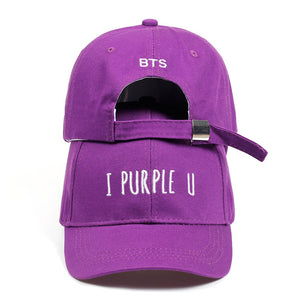 BTS I Purple U Cap