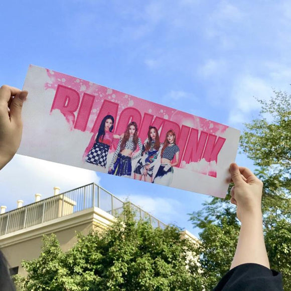 Blackpink Concert Support Hand Banner - Free WorldWide Shipping