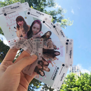 8Pcs/Set Blackpink Instagram Photocards - Free WorldWide Shipping