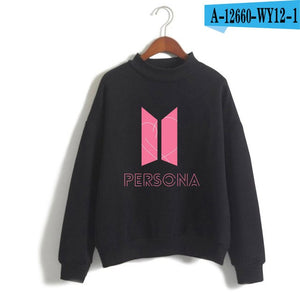 BTS Persona Turtleneck Sweatshirt - Free WorldWide Shipping