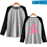 BTS Map Of The Soul Persona Black and White Long Sleeve - Free WorldWide Shipping